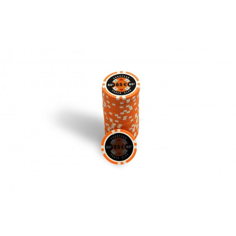 Recharge de 25 Jetons de Poker EPC 0,25€