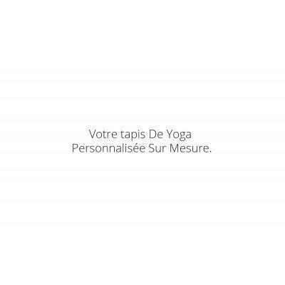 Tapis de yoga personnalisée...