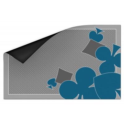 Tapis Ornament Card Gris