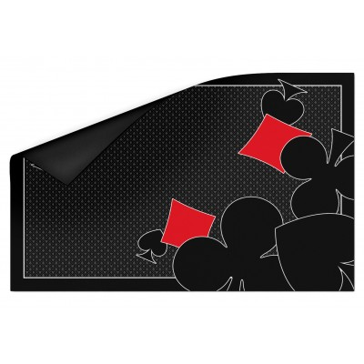 Tapis Ornament Card Noir