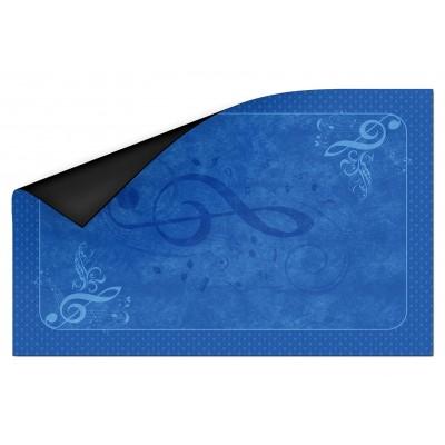 Tapis Clé de Sol  Bleu