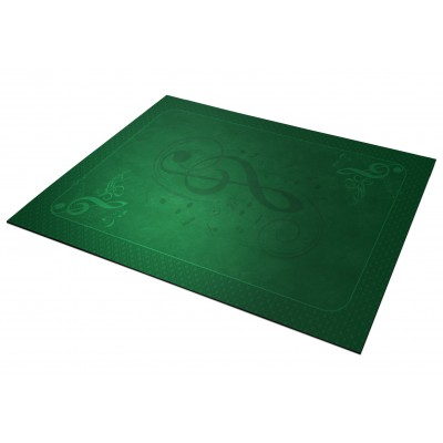 Tapis Clé de Sol  Vert