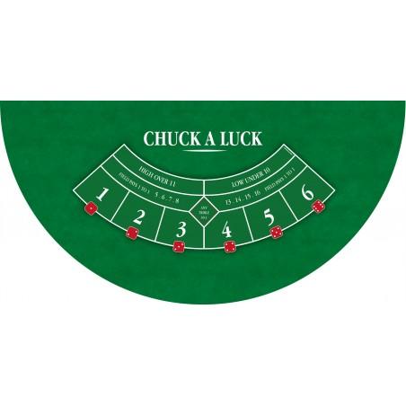 Tapis Chuck a Luck Vert