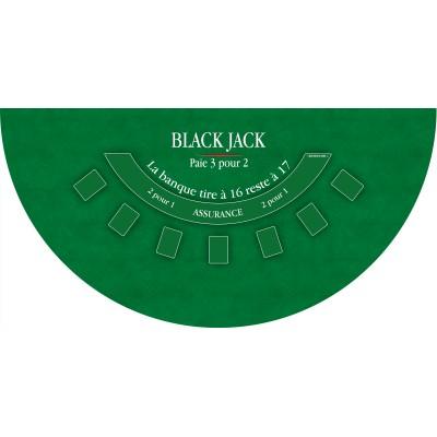 Tapis Black Jack Vert