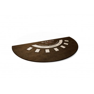 Tapis Black Jack Marron