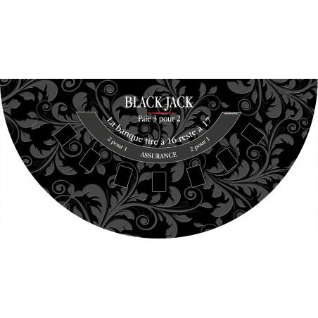 Tapis Black Jack Noir