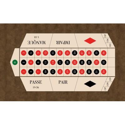 Tapis Roulette Française...