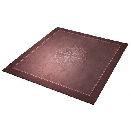 Tapis Bridge Rose des vents 78x78cm