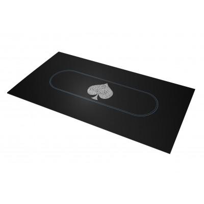 Tapis Poker - Typo Spade Rectangle