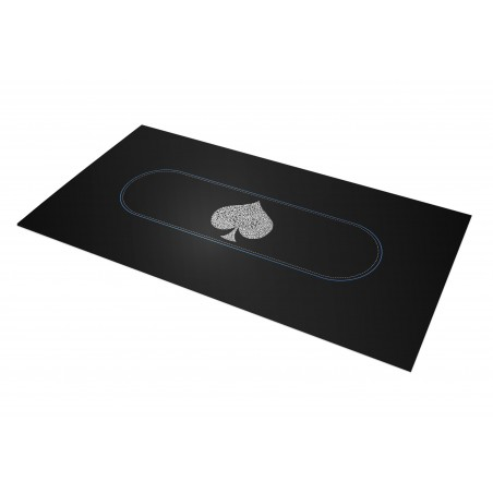 Tapis Poker - Typo Spade Rectangle