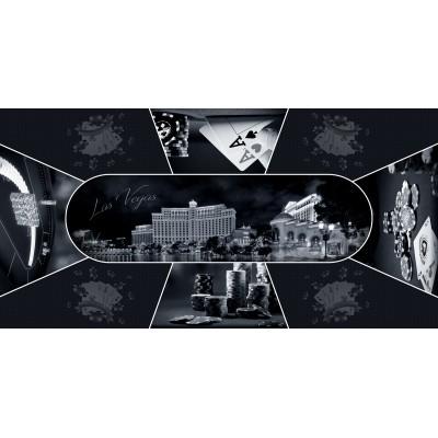 Tapis Poker - Las Vegas Poker Design Rectangle