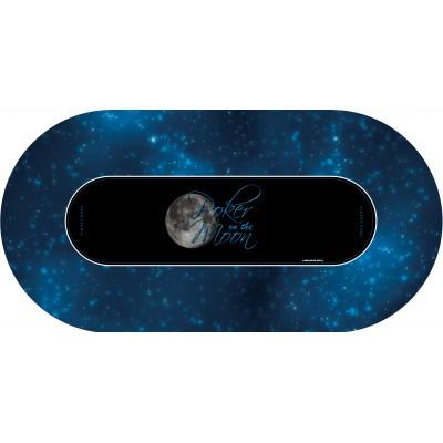 Tapis Poker - Poker on the moon Ovale