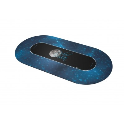Tapis Poker - Poker on the moon Ovale
