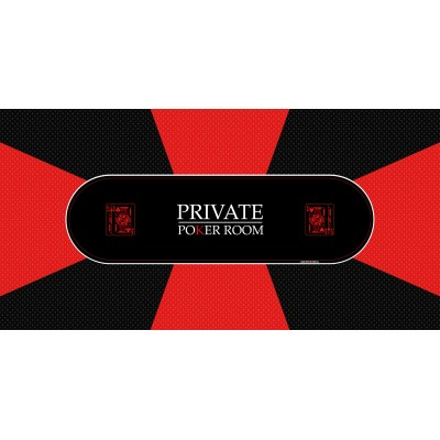 Tapis Poker - Private Poker Rectangle