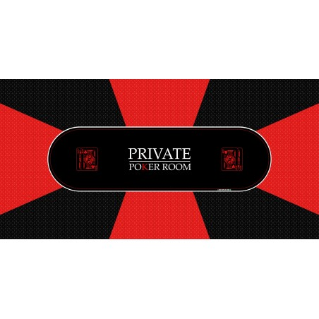 Tapis Poker - Private Poker Rectangle