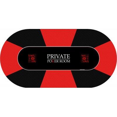 Tapis Poker - Private Poker Ovale
