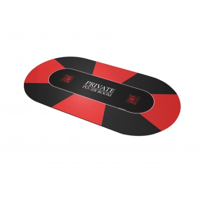 Tapis Poker - Private Poker Ovale