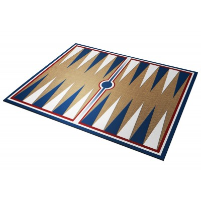 Backgammon Bleu Blanc Rouge...