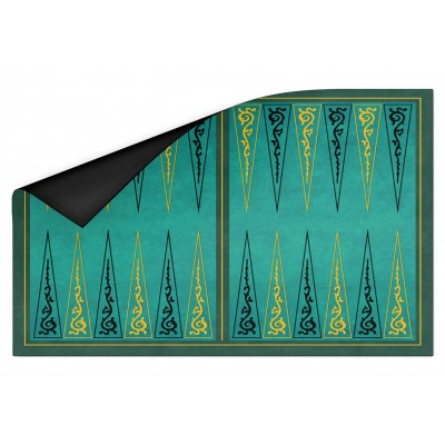 Backgammon Arabesques vert...