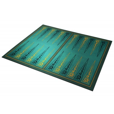 Backgammon Arabesques vert...