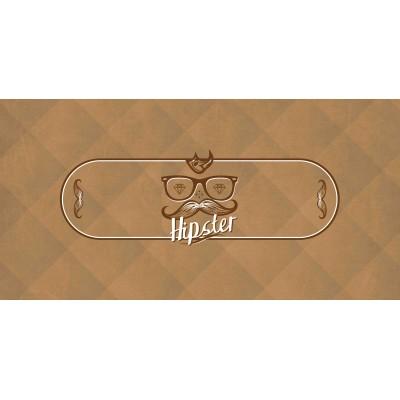 Tapis Poker - Hipster Ovale