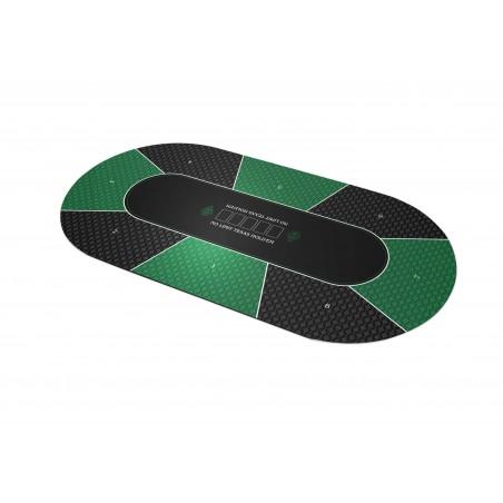 Texas Holdem Vert Ovale