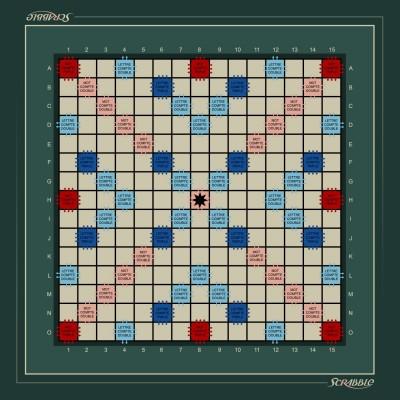 Tapis de Scrabble 40x40cm...