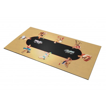 Tapis Poker – Pinup Rectangle