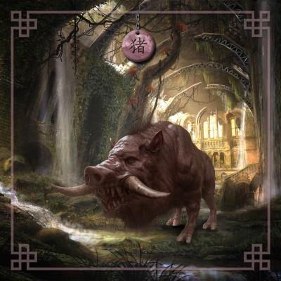 Astro chinois Cochon
