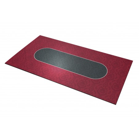 Tapis Poker – Victorian Rectangle Bordeaux