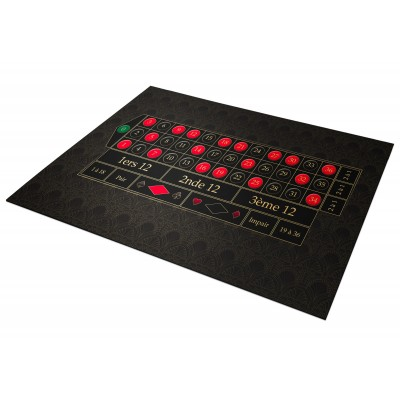 Tapis Roulette Anglaise...