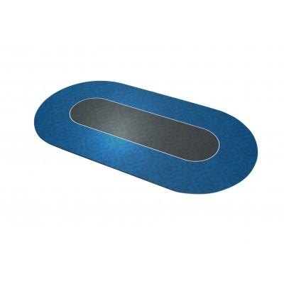 Tapis Poker Victorian Bleu Ovale