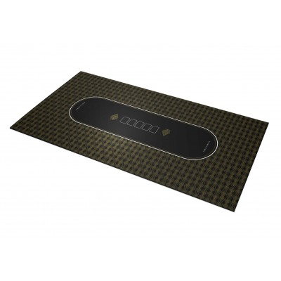 Tapis Poker – Azeria Gold Rectangle