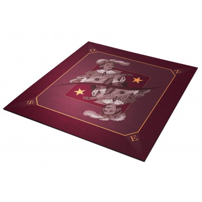 Tapis Tarot Excuse Bordeaux...