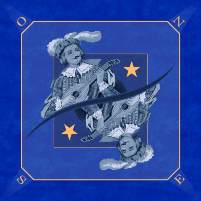 Tapis Tarot Excuse Bleu 60...