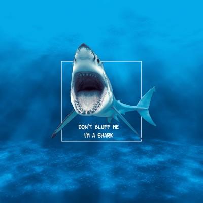 Tapis Poker Shark Evolution Carré