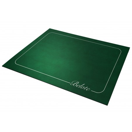 Tapis de belote  Vert