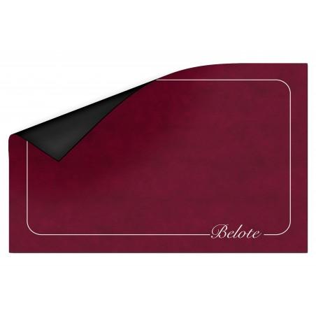 Tapis de Belote Bordeaux