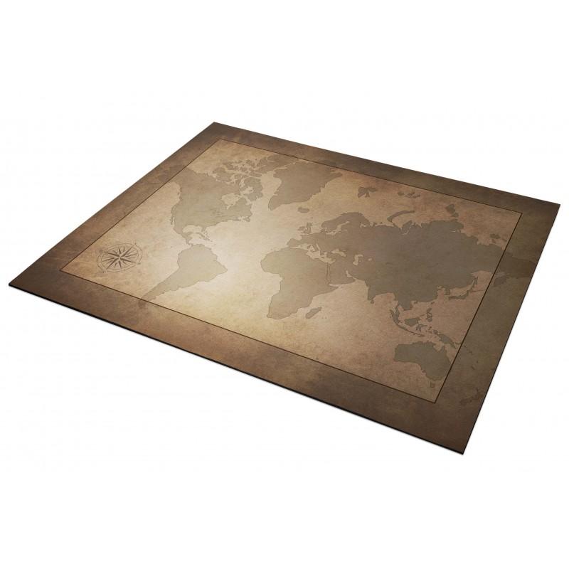 Tapis de souris  25x18cm - Mappemonde