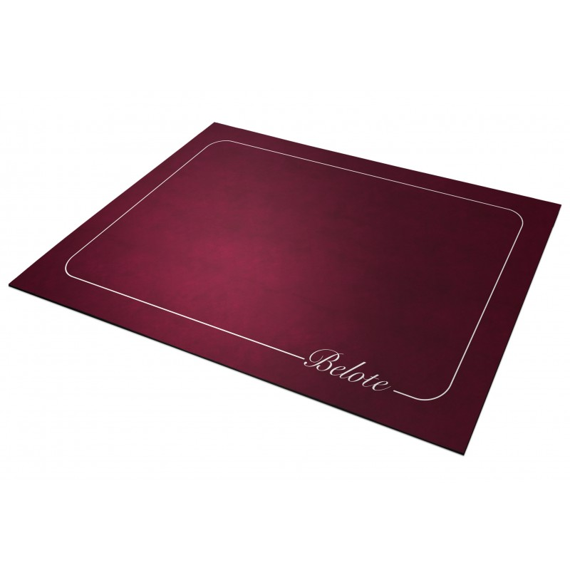 Tapis de Belote Bordeaux