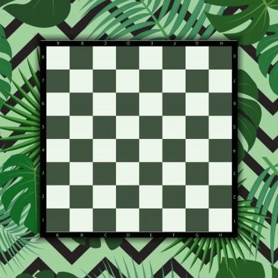 Tapis Echecs Tropical  60 x...