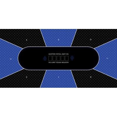 Texas Holden Bleu Rectangle