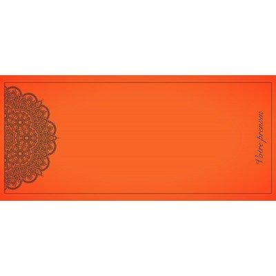 Tapis de Yoga Mandala Rouge 180x70cm